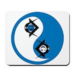 Masonic Yin Yang Mousepad