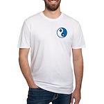 Masonic Yin Yang Fitted T-Shirt