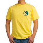 Masonic Yin Yang Yellow T-Shirt