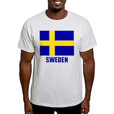 "Swedish Flag ""Sweden"" T-Shirt"