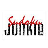 Sudoku JUNKIE Postcards (Package of 8)