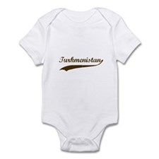 Vintage Turkmenistan Retro Infant Bodysuit