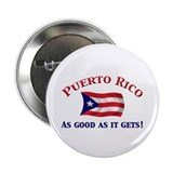 "Puerto Rican Flag 2.25"" Button (10 pack)"
