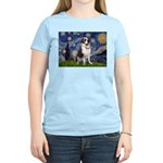 Starry / Saint Bernard Women's Light T-Shirt