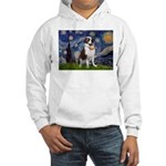 Starry / Saint Bernard Hooded Sweatshirt
