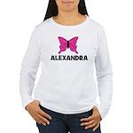 Butterfly - Alexandra Women's Long Sleeve T-Shirt
