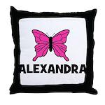 Butterfly - Alexandra Throw Pillow