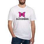 Butterfly - Alexandra Fitted T-Shirt