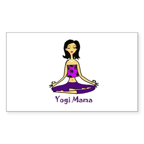 Yogi Mama Rectangle Sticker