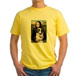 Mona / Saint Bernard Yellow T-Shirt