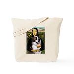 Mona / Saint Bernard Tote Bag