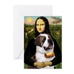 Mona / Saint Bernard Greeting Cards (Pk of 20)
