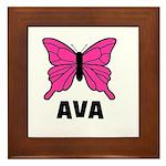 Butterfly - Ava Framed Tile