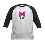 Butterfly - Ava Kids Baseball Jersey
