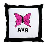 Butterfly - Ava Throw Pillow