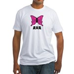 Butterfly - Ava Fitted T-Shirt