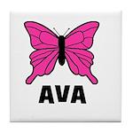 Butterfly - Ava Tile Coaster