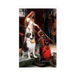 Accolade / St Bernard Sticker (Rectangle)