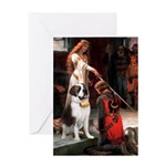 Accolade / St Bernard Greeting Card