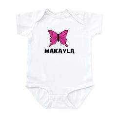 Butterfly - Makayla Infant Bodysuit