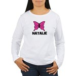 Butterfly - Natalie Women's Long Sleeve T-Shirt
