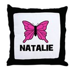 Butterfly - Natalie Throw Pillow