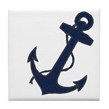 Anchored Tile Coaster