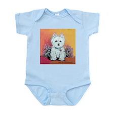 West Highland White Portrait Infant Bodysuit