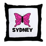Butterfly - Sydney Throw Pillow