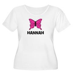 Butterfly - Hannah Women's Plus Size Scoop Neck T-