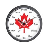 French Canadian Masonic Wall Clock