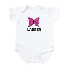 Butterfly - Lauren Infant Bodysuit
