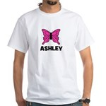 Butterfly - Ashley White T-Shirt