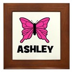 Butterfly - Ashley Framed Tile