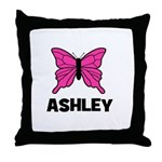 Butterfly - Ashley Throw Pillow
