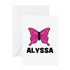 Butterfly - Alyssa Greeting Card