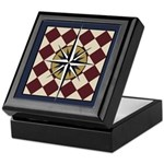 Mariners Compass Keepsake Box