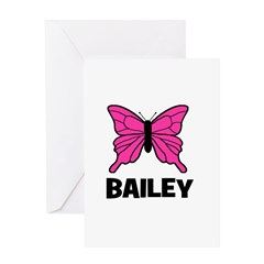 Butterfly - Bailey Greeting Card