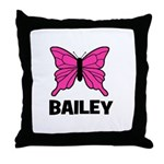 Butterfly - Bailey Throw Pillow