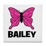 Butterfly - Bailey Tile Coaster