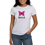 Butterfly - Becca Women's T-Shirt