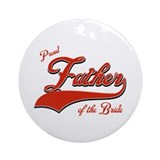 Father of the bride Ornament (Round)