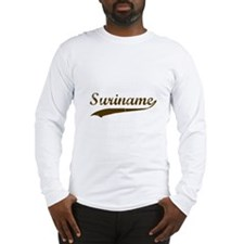 Vintage Suriname Retro Long Sleeve T-Shirt