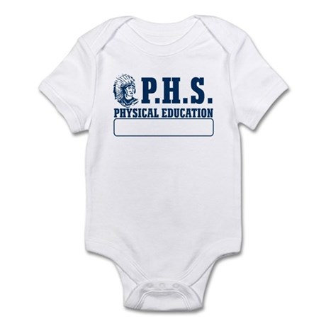 P.H.S. Physical Education Infant Bodysuit