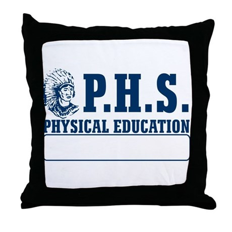 P.H.S. Physical Education Throw Pillow