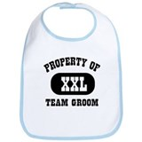 Property of team groom Bib