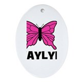 Butterfly - Kaylyn Oval Ornament