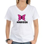 Butterfly - Marissa Women's V-Neck T-Shirt