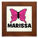 Butterfly - Marissa Framed Tile