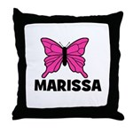 Butterfly - Marissa Throw Pillow